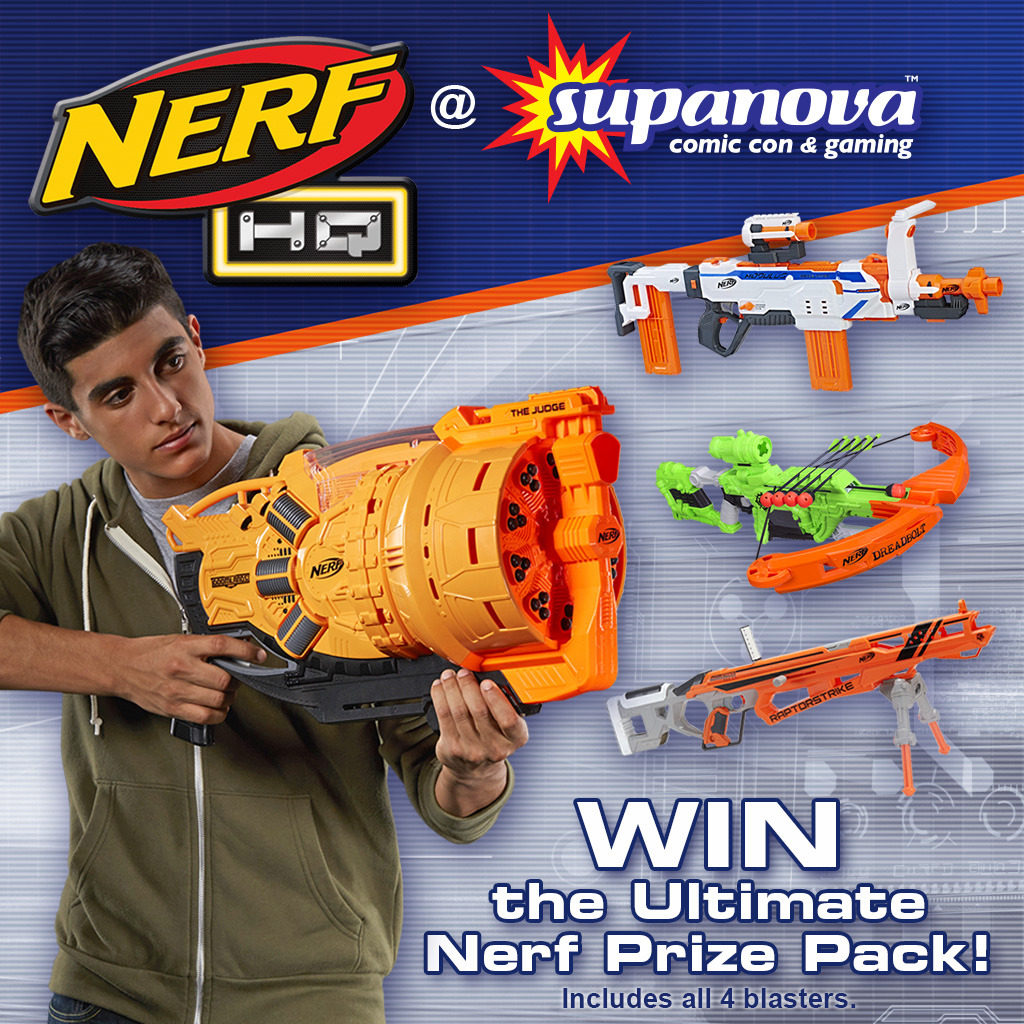 Presenting the ultimate NERF warrior