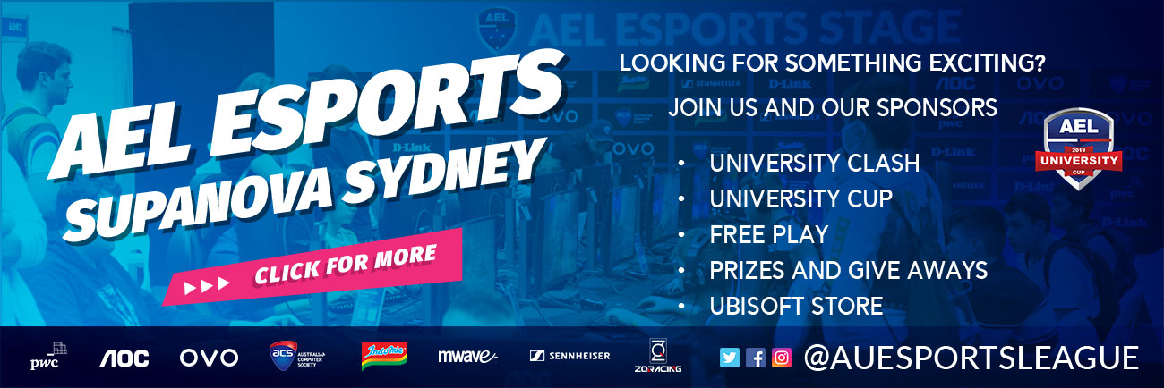 The 2019 AEL University Cup Is Coming To Sydney Supanova